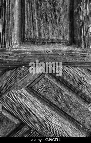 Detail der alten Tür - Stockfoto