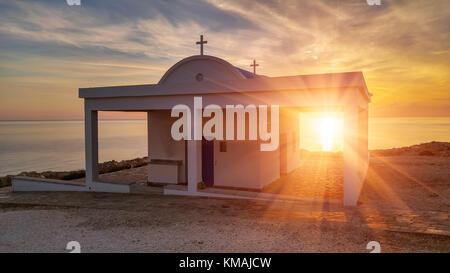 Kirche Agioi Anargyroi - Stockfoto