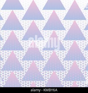 Bunte Dreiecke Muster Hintergrund mit Vektor Halbton - Stockfoto