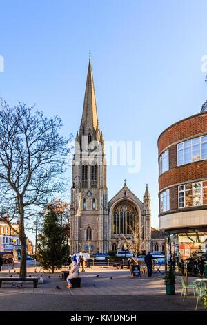 St James's CofE evangelische Kirche, Muswell Hill, London, UK - Stockfoto