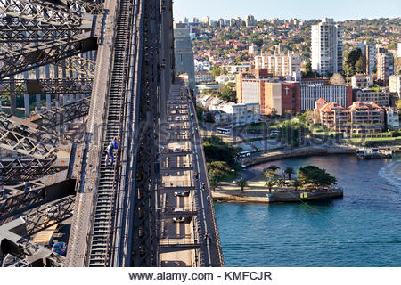 Sydney Harbour Bridge. Sydney, Australien - Stockfoto