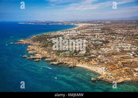 Praia de Sao Rafael. Albufeira. Faro District. Algarve. Portugal - Stockfoto