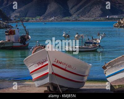Marokko, bei 15-04, an der nördlichen Küste. - Stockfoto