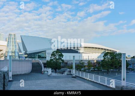 Yokohama, 21 November: Morgen Blick auf die modernen Gebäude am 21.November 2017 in Yokohama, Japan - Stockfoto