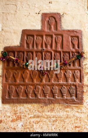 In der schönen Stadt Jodhpur in Rajasthan in Indien - Stockfoto