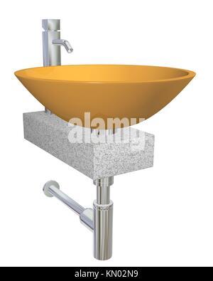 keramische badezimmer waschbecken isolierten auf wei en hintergrund stockfoto bild 82591530. Black Bedroom Furniture Sets. Home Design Ideas