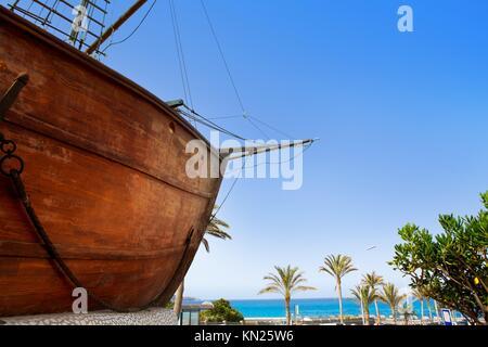 Barco De La Virgen in Santa Cruz De La Palma, Kanarische Inseln - Stockfoto