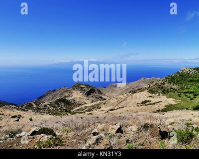 Teno-gebirge auf Teneriffa, Kanarische Inseln, Spanien. - Stockfoto