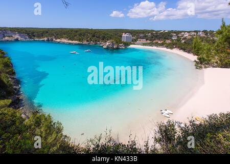 Menorca Cala Galdana in Ciutadella, Balearen. - Stockfoto