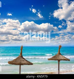 Mallorca sArenal Arenal Strand Platja de Palma auf Mallorca Balearen. - Stockfoto