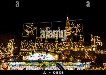 Beleuchtete Bilder Weihnachten.Weihnachten Zeichen Beleuchtet Frohe Weihnachten Frohe