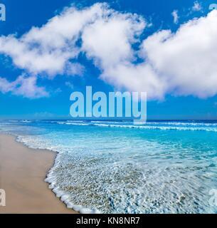 Daytona Beach in Florida Ufer Wellen der USA. - Stockfoto