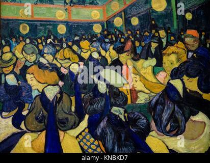 Vincent Van Gogh (1853-1890). La Salle de danse à Arles, 1888, huile sur toile, Musée d'Orsay, Paris, Frankreich - Stockfoto