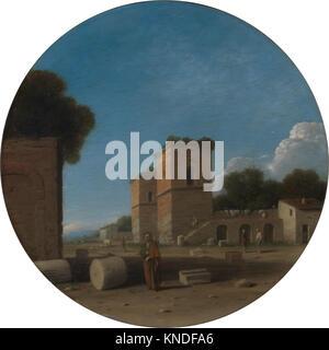 Goffredo Wals - eine römische Landschaft mit Figuren 437983 - Stockfoto