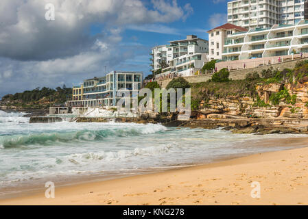 Bondi Icebergs am Bondi Beach in die östlichen Vororte, Bondi, Sydney, New South Wales, Australien. - Stockfoto