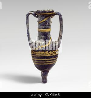 Glas amphoriskos (Parfüm Flasche). Zeitraum: Hellenistischen; Datum: 3.-2. Jh. B.C; Kultur: Griechisch, im östlichen - Stockfoto
