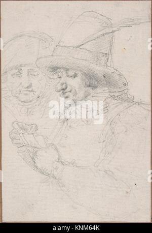 Ersetzungen in der Pariser Guard spielen Karten. Artist: Baron Dominique Vivant Denon (Französisch, Givry 1747-1825 - Stockfoto