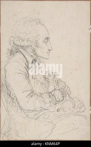 Georges-Auguste Couthon am National Convention in 1793. Artist: Baron Dominique Vivant Denon (Französisch, Givry 1747-1825 Paris); Datum: Ca. 1793;