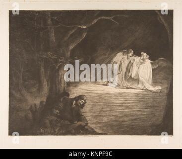 Christus auf dem Ölberg. Artist: Baron Dominique Vivant Denon (Französisch, Givry 1747-1825 Paris); Künstler: Nach - Stockfoto