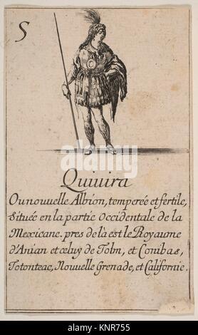 """Quivira, aus """"Spiel der Geographie"""" (Jeu de la géographie). Serie/Portfolio: """"Spiel der Geographie"""" (Jeu de la géographie); - Stockfoto"""