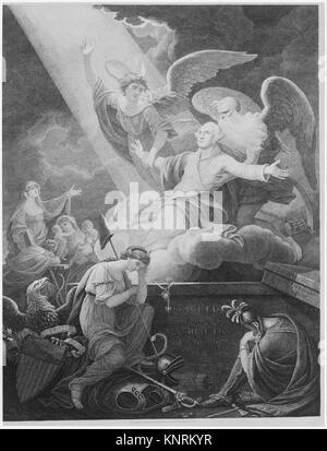 Apotheose von Washington. Artist: John James Barralet (Irland, Dublin Ca. 1747-1815 Philadelphia, Pennsylvania); - Stockfoto