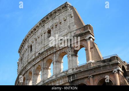Das Kolosseum in Rom, Italien - Stockfoto