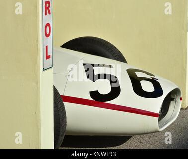 Wolf-Dieter Baumann, Maserati 250 F, Richmond Trophäe, Goodwood Revival 2014, 2014 Goodwood Revival, Goodwood Revival - Stockfoto