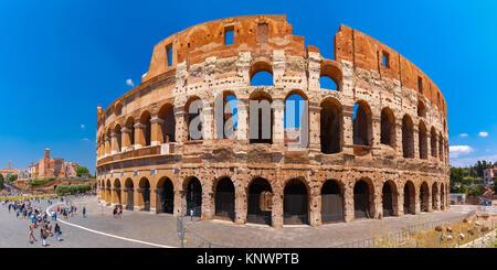 Kolosseum oder Kolosseum in Rom, Italien. - Stockfoto