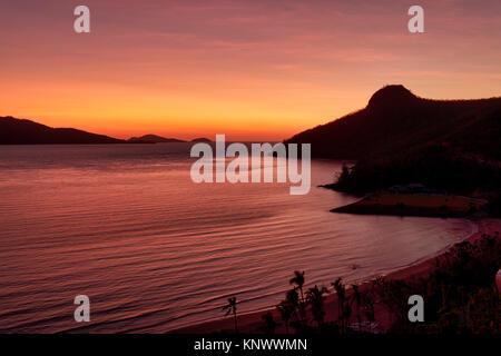 Sonnenaufgang auf Hamilton Island. Queensland, Australien - Stockfoto