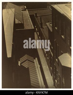 [Aussicht auf die Dächer]. Artist: Morton Schamberg (Amerikanische, Philadelphia, Pennsylvania Philadelphia, Pennsylvania, - Stockfoto
