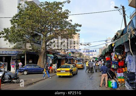 sandaga market in dakar senegal stockfoto bild 21759210 alamy. Black Bedroom Furniture Sets. Home Design Ideas