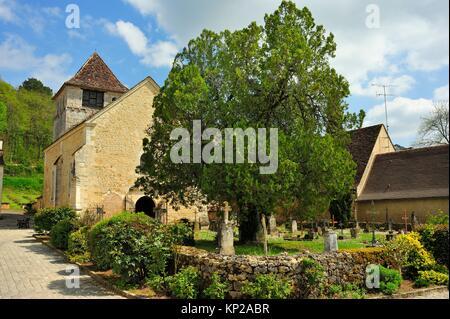 Queyssac, Dordogne, Aquitaine, Frankreich. - Stockfoto