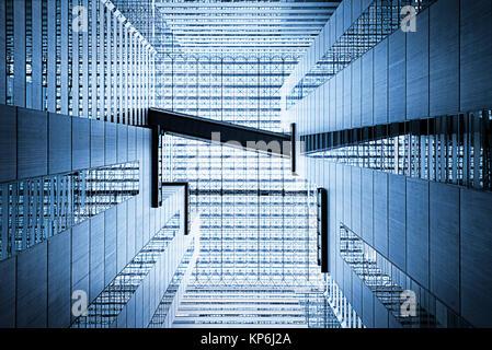 Abstrakte Architektur Atrium