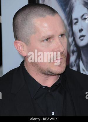 Beverly Hills, Kalifornien, USA. 14. Dezember, 2017. Schauspieler Christian Bale besucht die Los Angeles Premiere - Stockfoto