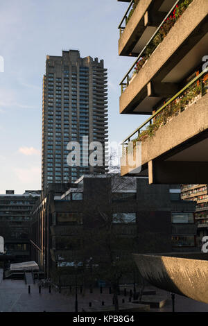 Das Barbican, London, England. - Stockfoto