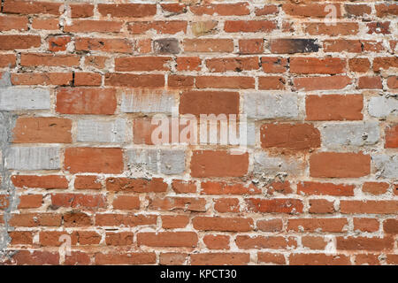 alte mauer aus roten und wei en steinen stockfoto bild 168894101 alamy. Black Bedroom Furniture Sets. Home Design Ideas