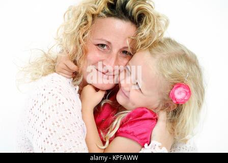 Mutter Und Tochter - Mutter und Tochter - Stockfoto