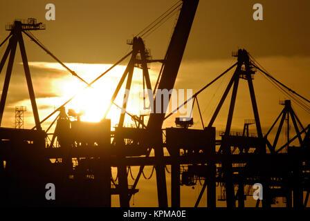Hamburg, eine der schönsten und beliebtesten Reiseziele der Welt. - Stockfoto