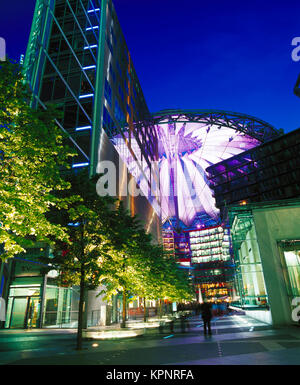 Potsdamer Platz, Berlin, Deutschland - Stockfoto