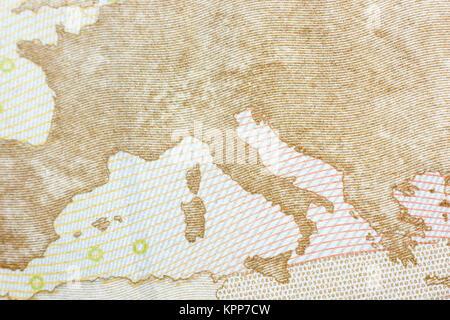 Zwei Euro Cent - Stockfoto