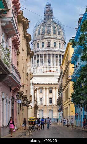 Capitolio. La Habana, Kuba - Stockfoto