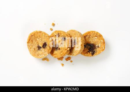 Die Mutter und die Samen cookies - Stockfoto