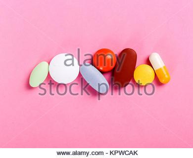 Tabletten - Stockfoto