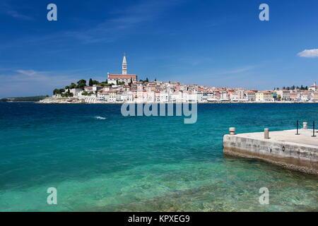 Küstenstadt in Kroatien - Stockfoto