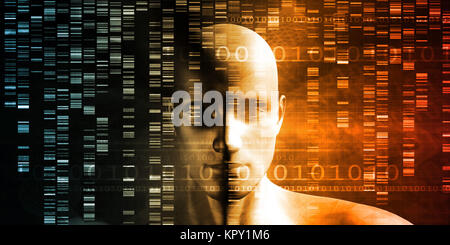 Genomsequenz - Stockfoto