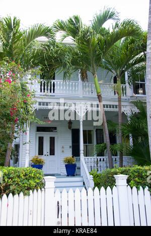 Historischer Teil von Key West - Stockfoto