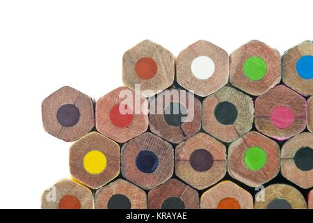 Buntstifte unteren Teil - Stockfoto