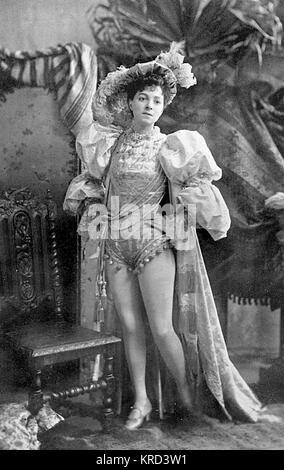 Vesta Tilley (1864-1952), geboren Matilda Alice Powles, später Dame de Frece, Music Hall Schauspielerin, deren Spezialität - Stockfoto
