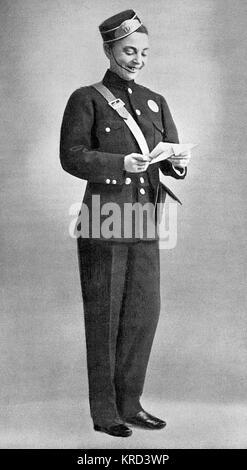 Miss Vesta Tilley (1864-1952), geboren Matilda Alice Powles, später Dame de Frece, Music Hall und Vielfalt Entertainer - Stockfoto