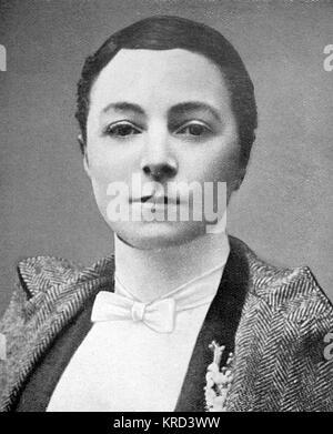 Miss Vesta Tilley (1864-1952), geboren Matilda Alice Powles, später Dame de Frece, Music Hall Entertainer und Vielfalt - Stockfoto